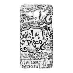 Panic! At The Disco Lyric Quotes Samsung Galaxy A5 Hardshell Case  by Samandel
