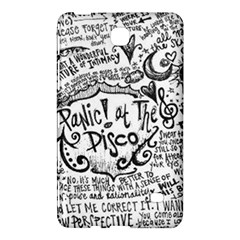 Panic! At The Disco Lyric Quotes Samsung Galaxy Tab 4 (8 ) Hardshell Case  by Samandel