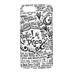 Panic! At The Disco Lyric Quotes Apple Iphone 7 Plus Hardshell Case by Samandel