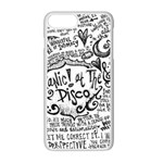Panic! At The Disco Lyric Quotes Apple iPhone 7 Plus Seamless Case (White) Front