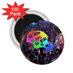 Panic! At The Disco Galaxy Nebula 2 25  Magnets (100 Pack)