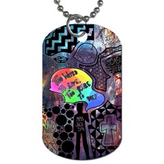 Panic! At The Disco Galaxy Nebula Dog Tag (two Sides)