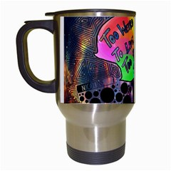 Panic! At The Disco Galaxy Nebula Travel Mugs (white)