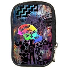 Panic! At The Disco Galaxy Nebula Compact Camera Cases by Samandel