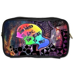 Panic! At The Disco Galaxy Nebula Toiletries Bags 2 Side