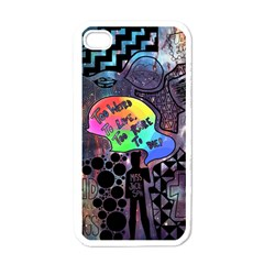 Panic! At The Disco Galaxy Nebula Apple Iphone 4 Case (white) by Samandel