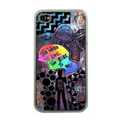Panic! At The Disco Galaxy Nebula Apple Iphone 4 Case (clear) by Samandel