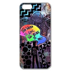 Panic! At The Disco Galaxy Nebula Apple Seamless Iphone 5 Case (clear)