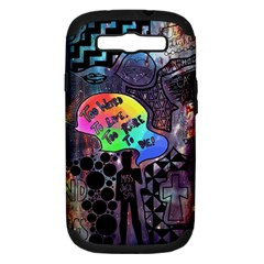 Panic! At The Disco Galaxy Nebula Samsung Galaxy S Iii Hardshell Case (pc+silicone)