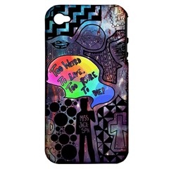 Panic! At The Disco Galaxy Nebula Apple Iphone 4/4s Hardshell Case (pc+silicone) by Samandel