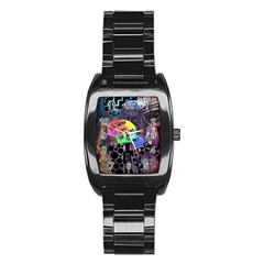 Panic! At The Disco Galaxy Nebula Stainless Steel Barrel Watch by Samandel