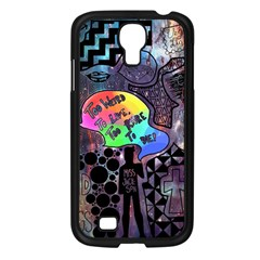 Panic! At The Disco Galaxy Nebula Samsung Galaxy S4 I9500/ I9505 Case (black)