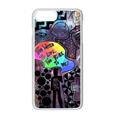 Panic! At The Disco Galaxy Nebula Apple Iphone 7 Plus Seamless Case (white) by Samandel