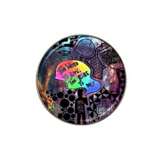 Panic! At The Disco Galaxy Nebula Hat Clip Ball Marker (4 Pack) by Samandel