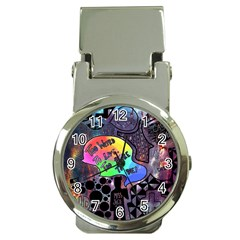 Panic! At The Disco Galaxy Nebula Money Clip Watches by Samandel