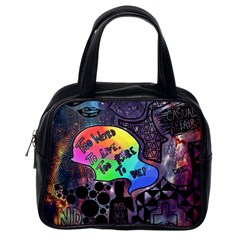 Panic! At The Disco Galaxy Nebula Classic Handbags (one Side) by Samandel