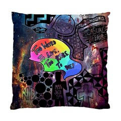 Panic! At The Disco Galaxy Nebula Standard Cushion Case (two Sides)