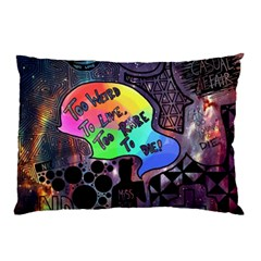 Panic! At The Disco Galaxy Nebula Pillow Case by Samandel
