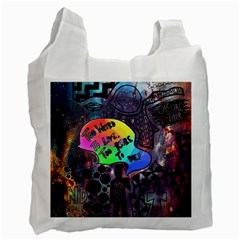 Panic! At The Disco Galaxy Nebula Recycle Bag (two Side)  by Samandel