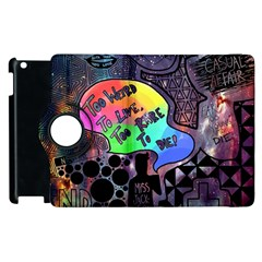 Panic! At The Disco Galaxy Nebula Apple Ipad 2 Flip 360 Case by Samandel