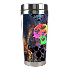 Panic! At The Disco Galaxy Nebula Stainless Steel Travel Tumblers by Samandel
