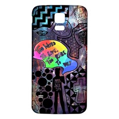 Panic! At The Disco Galaxy Nebula Samsung Galaxy S5 Back Case (white) by Samandel