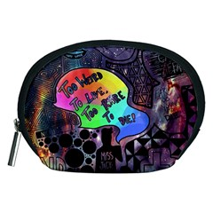 Panic! At The Disco Galaxy Nebula Accessory Pouches (medium)  by Samandel