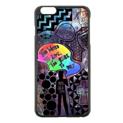 Panic! At The Disco Galaxy Nebula Apple Iphone 6 Plus/6s Plus Black Enamel Case by Samandel