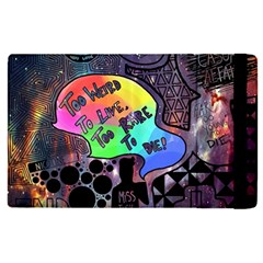 Panic! At The Disco Galaxy Nebula Apple Ipad Pro 9 7   Flip Case by Samandel