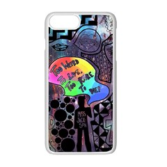 Panic! At The Disco Galaxy Nebula Apple Iphone 8 Plus Seamless Case (white) by Samandel