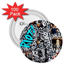 Panic! At The Disco College 2 25  Buttons (100 Pack)  by Samandel