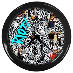 Panic! At The Disco College Wall Clocks (black) by Samandel