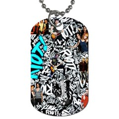 Panic! At The Disco College Dog Tag (one Side)