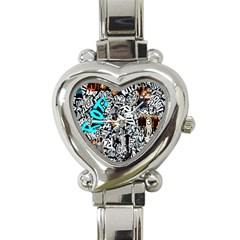 Panic! At The Disco College Heart Italian Charm Watch by Samandel