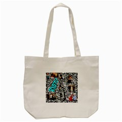 Panic! At The Disco College Tote Bag (cream) by Samandel