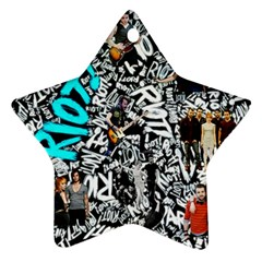 Panic! At The Disco College Star Ornament (two Sides) by Samandel