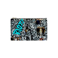 Panic! At The Disco College Cosmetic Bag (small)  by Samandel