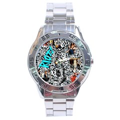 Panic! At The Disco College Stainless Steel Analogue Watch by Samandel