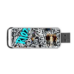 Panic! At The Disco College Portable Usb Flash (one Side)