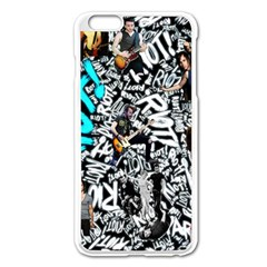 Panic! At The Disco College Apple Iphone 6 Plus/6s Plus Enamel White Case by Samandel