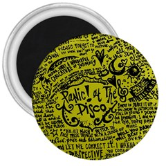 Panic! At The Disco Lyric Quotes 3  Magnets by Samandel