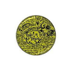 Panic! At The Disco Lyric Quotes Hat Clip Ball Marker (10 Pack) by Samandel