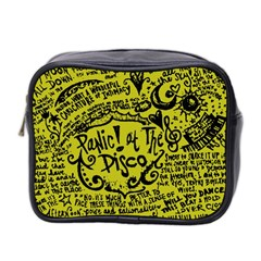 Panic! At The Disco Lyric Quotes Mini Toiletries Bag 2 Side by Samandel