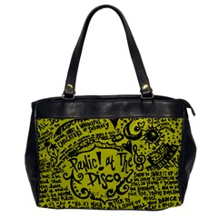 Panic! At The Disco Lyric Quotes Office Handbags by Samandel