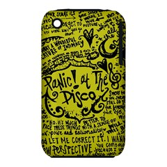 Panic! At The Disco Lyric Quotes Iphone 3s/3gs by Samandel