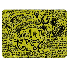 Panic! At The Disco Lyric Quotes Samsung Galaxy Tab 7  P1000 Flip Case by Samandel