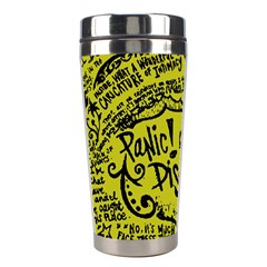 Panic! At The Disco Lyric Quotes Stainless Steel Travel Tumblers by Samandel
