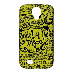 Panic! At The Disco Lyric Quotes Samsung Galaxy S4 Classic Hardshell Case (pc+silicone) by Samandel