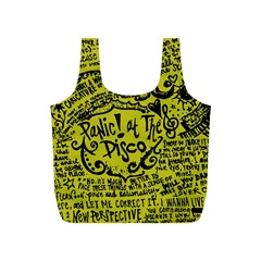 Panic! At The Disco Lyric Quotes Full Print Recycle Bags (s)  by Samandel