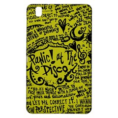 Panic! At The Disco Lyric Quotes Samsung Galaxy Tab Pro 8 4 Hardshell Case by Samandel